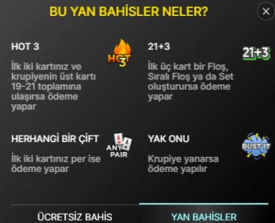 freebet blackjack oyunu